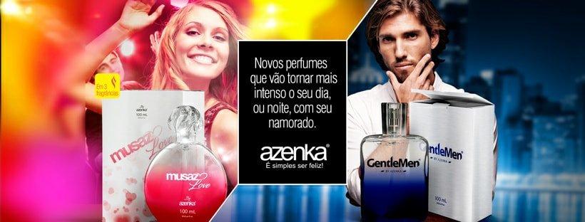 Novos Perfumes Azenka